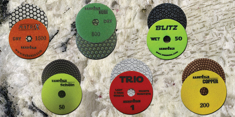 Assorted Polishing Pad Types