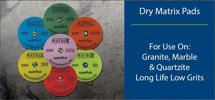 Matrix Dry Polishing Pads
