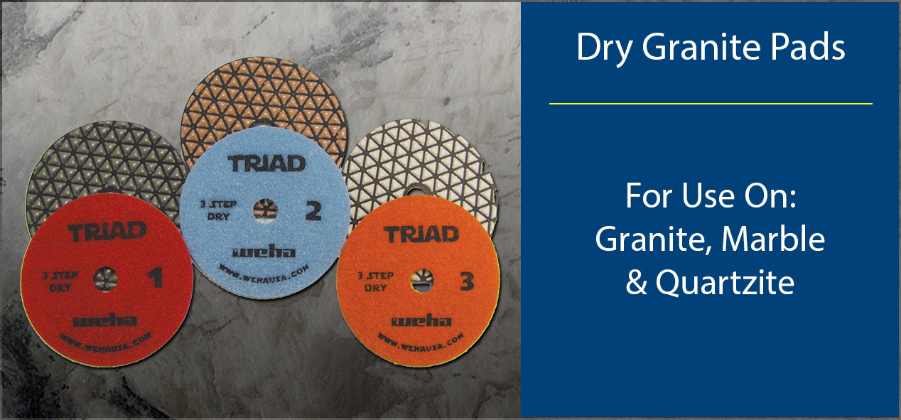 Dry Granite-Polishing Pads