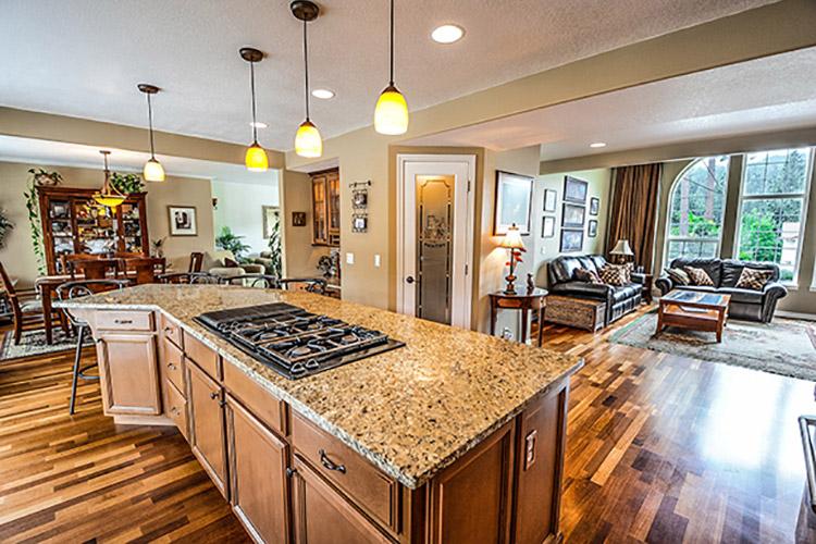 Kitchen Countertop With Unique Texture